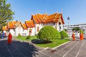 Wat Benchamabophit in Bangkok Thailand — Stock Photo
