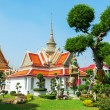 Small building nearby the famous Wat Arun Temple in Bangkok, Thailand — Stock Photo #62528575