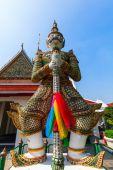 Demon Guardian at Wat Arun in Bangkok, Thailand — Stock Photo