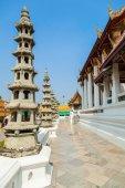Temple Wat Suthat, Bangkok, Thailand — Stock Photo