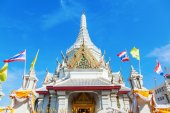 Lak Mueang in Bangkok, Thailand — Stock Photo