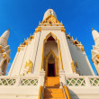 Detail of the Buddhist temple Wat Phichaiyat in Bangkok, Thailand — Stock Photo #62622343