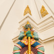 Detail of the Buddhist temple Wat Phichaiyat in Bangkok, Thailand — Stock Photo #62626369