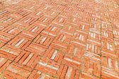 Background picture from old brick stone pavement — Stock Photo