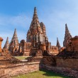 Wat Phra Si Sanphet, ruin of a former royal temple in Ayutthaya, Thailand — Stock Photo #62770269
