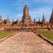 Wat Phra Si Sanphet, ruin of a former royal temple in Ayutthaya, Thailand — Stock Photo #62784447