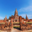Wat Phra Si Sanphet, ruin of a former royal temple in Ayutthaya, Thailand — Stockfoto #62784465