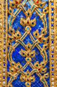 Relief detail at the temple Wat Phra Kaew in Bangkok, Thailand — Stock Photo