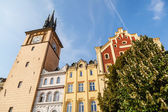Old town water tower in Prague, Czechia — Stock Photo