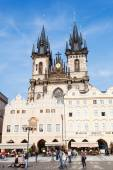 Church of our Lady before Tyn at Old Town Square in Prague, Czechia — 图库照片