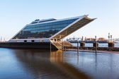 Modern office building -dockland- in Hamburg, Germany — Foto Stock