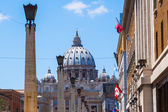 View of the St Peters Church in Rome, Italy — Foto Stock