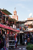 Stores in the souks of Marrakesh, Morocco — Stock Photo