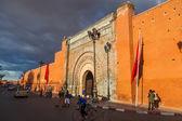 City gate Bab Agnaou in Marrakesh, Morocco — Stok fotoğraf