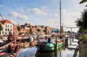Delfshaven in Rotterdam, Netherlands — Foto de Stock