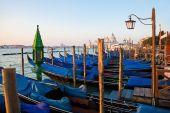 イタリア、ベニスのゴンドラ — ストック写真
