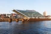 Modern office building -dockland- in Hamburg, Germany — Stock Photo