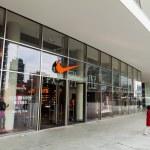 Постер, плакат: Nike store in Milan Italy