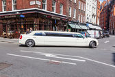 Stretched limousine in the city of London, UK — Stock Photo