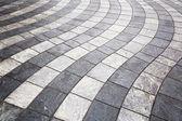 Wavy laid pavement — Stock Photo