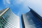 Uni Credit Tower in Milan, Italy — Stock Photo
