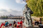 Statue of Bedrich Smetana in Prague, Czechia — Stock Photo