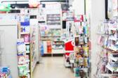 Blur retail shop — Stock Photo