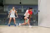 Campeonato de squash open de Malasia Cimb 2014 — Foto de Stock