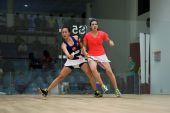 CIMB Malaysia Open Squash Championship 2014 — Stock Photo