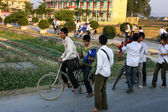 Vietnamese secondary school boys — Stock Photo