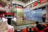 Campeonato de squash abierto malasio cimb 2014 — Foto de Stock