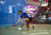 CIMB Malaysian Open Squash Championship 2014 — Stock Photo