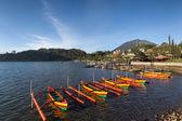 Lake Bratan, Bali Island, Indonesia — Stock Photo
