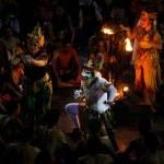 Kecak Fire Dance, Bali Island — Stock Photo #54702713