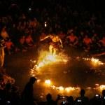 Kecak Fire Dance, Bali Island — Stock Photo #54702807