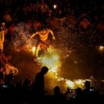 Kecak Fire Dance, Bali Island — Stock Photo #54702813