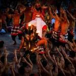 Kecak Fire Dance, Bali Island — Stock Photo #54703195
