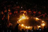 Kecak Fire Dance, Bali Island — Stock Photo