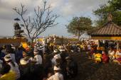 Nyaben ceremony, Bali Island — Foto de Stock