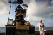 Nyaben ceremony, Bali Island — Stock Photo