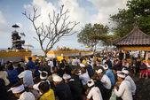 Ceremonia de nyaben, isla de bali — Foto de Stock