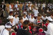 Nyaben ceremony, Bali Island — Stock Photo
