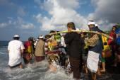 Nyaben ceremony, Bali Island — Zdjęcie stockowe