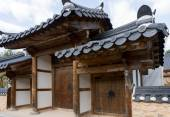 Jeonju Hanok Village — Stock Photo