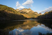Lake, Maisan Mountains, South Korea — Stockfoto