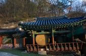 Mout Maisan Temple, South Korea — Stockfoto