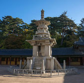 Geumsansa Temple complex in South Korea — Fotografia Stock