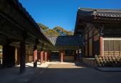 Geumsansa Temple complex in South Korea — Stock Photo