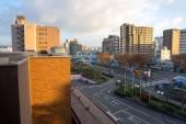 Uitzicht op stad — Stockfoto