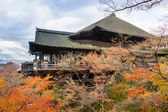Kiyomizu temple, Kyoto Japan — Stock Photo